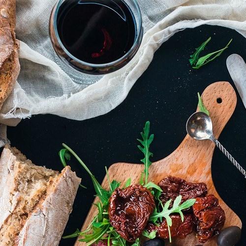 Vinkurs med mat i Norge